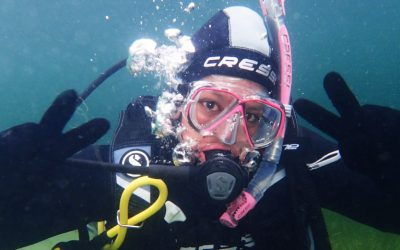 Seventh day of PADI Open water scuba diving course – Final dive – We are divers