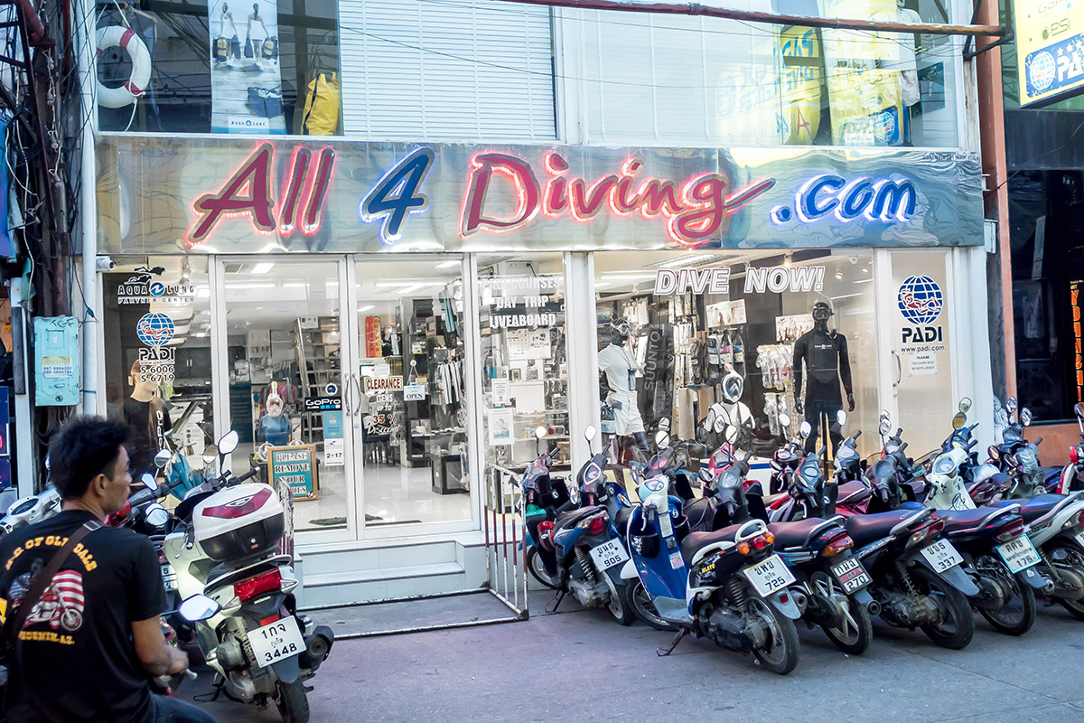 All 4 Diving Phuket | Dive shop in Phuket, Thailand