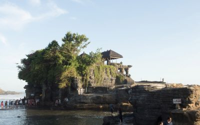 Tanah Lot Temple in Bali